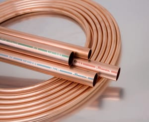 2 in. x 20 ft. Hard Type K Cleaned and Capped Copper Tube KCCAPK