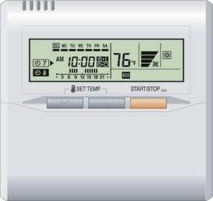 Fujitsu Wired Remote Control for ARUH96TLAV Mini-Split Heat Pump FUTYRNKU