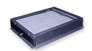 25 x 20 in. 22 ga Filter Base Narrow Air Handler SHMFBSE222025FCN