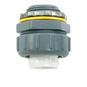 Diversitech 1/2 in. Liquid Tight Straight Connector DIV750NMLT