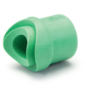 Aquatherm Greenpipe® 6 x 3 in. Fusion Outlet Reducing Polypropylene Adapter A0115220