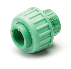 Aquatherm Greenpipe® 2 in. Straight SDR 6 Polypropylene Union A0115848