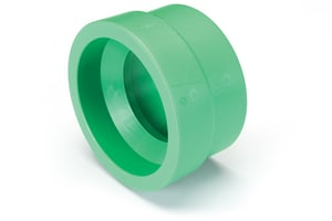 Aquatherm Greenpipe® 6 x 4 in. Butt Weld DR 7.4 Fusiolen® PP-R and Polypropylene Reducer A011