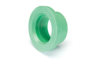 Aquatherm Greenpipe® 6 in. Butt Weld Straight SDR 7.4 Polypropylene Flange Adapter for Ball Valve A01155BV