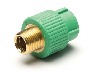 Aquatherm Greenpipe® 3/4 x 1/2 in. MIP Round Transition Coupling A0621211
