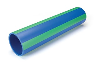 Aquatherm Blue Pipe® 19 ft. x 6 in. SDR 17.6 Faser Fusion Polyethylene A25701306M