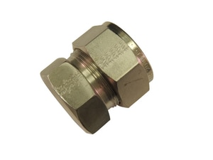 Tylok 1/4 in. OD Stainless Steel Cap TSS4DCAP