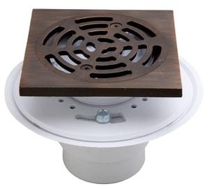 PROFLO® 2 in. Plastic Oil Rubbed Bronze Shower Drain PF821PQ
