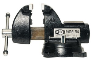 Reed Manufacturing 705 MID LINE VISE 5IN R01387 at Pollardwater