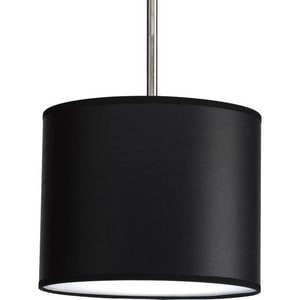 Progress Lighting Markor Pendant System Shade in Black Parchment PP882001