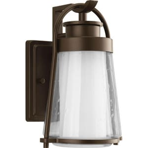 Progress Lighting Regatta 11-1/8 x 7-1/2 in. 100W 1-Light Outdoor Wall Lantern in Antique Bronze PP599720