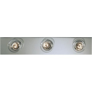 Progress Lighting Broadway 24 in. 60W 3-Light Vanity Fixture in Polished Chrome PP311415