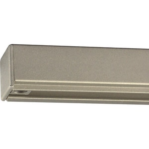Progress Lighting Alpha Trak 8 ft. Alpha Trak Section in Brushed Nickel PP910509