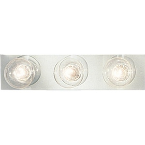 Progress Lighting Broadway 18 in. 60W 3-Light Vanity Fixture in Polished Chrome PP333315