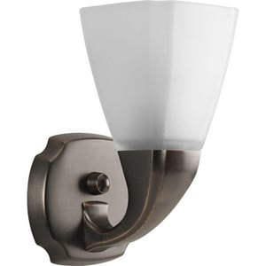 Progress Lighting Addison 100W 1-Light Bath Bracket in Venetian Bronze PP284674