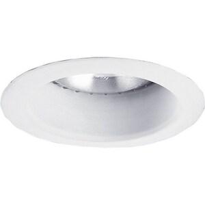 Progress Lighting Recessed 50W Open Shower Light Trim in White PP8367WL28