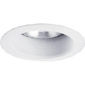 Progress Lighting Recessed 4 in. 65W Open Recessed Trim in Bright White PP836828