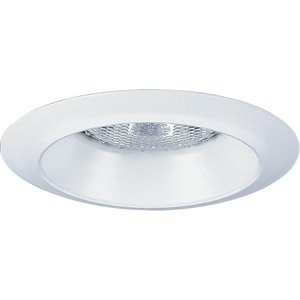 Progress Lighting Recessed 50 W 1-Light R20 Open Trim in White PP804128