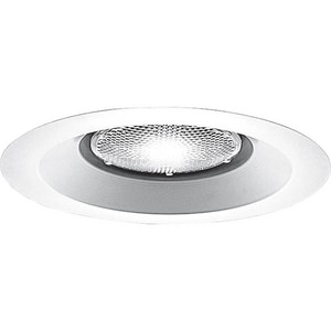 Progress Lighting Recessed 7-3/4 in. Open Shower Recessed Trim White PP8072WL28