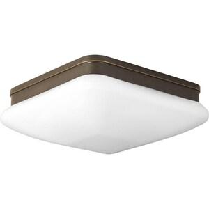 Progress Lighting Appeal 3-3/4 x 11 in. Close-to-Ceiling Light Fixture in Antique Bronze PP351120