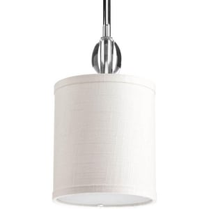 Progress Lighting Status 75W 1-Light Pendant in Polished Chrome PP503115