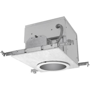 Progress Lighting Recessed 12-3/8 in 32W 1-Light Compact Fluorescent G24q-3 Recessed Housing PP62FB