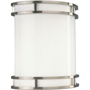 Progress Lighting 17W 1-Light LED Wall Sconce in Brushed Nickel PP70850930K9