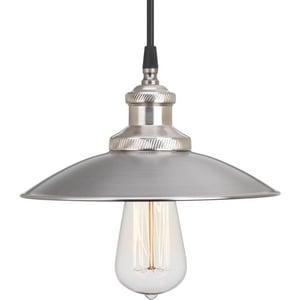 Progress Lighting Archives 100W 1-Light Medium Pendant in Antique Nickel PP516181