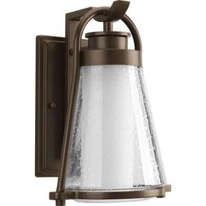 Progress Lighting Regatta 13 in. 100W 1-Light Outdoor Wall Lantern in Antique Bronze PP599820