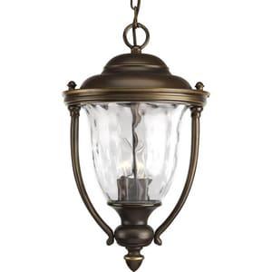 Progress Lighting Prestwick 40W 3-Light Candelabra E-12 Incandescent Lantern in Oil Rubbed Bronze PP5584108