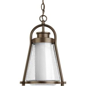 Progress Lighting Regatta 100W 1-Light Hanging Lantern in Antique Bronze PP650520