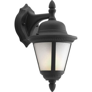 Progress Lighting Westport 13W 1-Light GU24 Wall Lantern in Black PP586231WB
