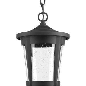 Progress Lighting East Haven 9W 1-Light LED Hanging Lantern in Black PP65303130K9