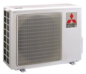 Mitsubishi Electronics USA M-Series 1.5 Ton 9 MBH 17 SEER R-410A Split-System Outdoor Heat Pump MMUZA09NA