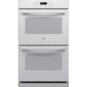 General Electric Appliances 29-3/4 in. 2850W Double Electric Convertible Wall Oven in White GJT3500DFWW