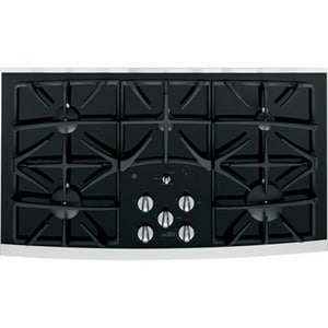 General Electric Appliances Profile™ 36 in. Built-In Gas Cooktop in Stainless Steel GJGP970SEKSS