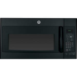 General Electric Appliances Profile™ 29-7/8 in. 1.7 cf Over The Range Convection Microwave Oven in Black with Sensor Cook GPVM9179DFBB
