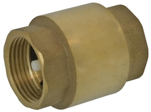 Webstone Company 1070W Series 1-1/2 in. Brass FIP Spring Check Valve WH10706W