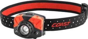 Coast Cutlery FL75 3.7 oz. 405 Lumen LED Twisted Headlamp Focus C21326