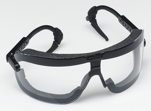 Fectoggle Safety Goggle with Clear Lens and Adjustable Temple 3M07837162325