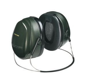 Peltor™ Behind-the-Head Ear Muff in Green and Black 3M09304508072