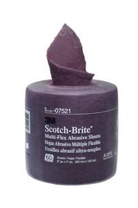 3M Scotch-Brite™ 20 ft. Multi-Flex Abrasive Sheet Roll 3M05113107521
