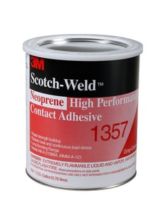 3M Scotch-Weld™ 1 gal Neoprene High Performance Contact Adhesive in Green and Grey 3M02120019894