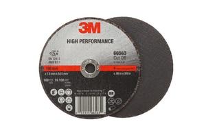 3M 4 x 3/8 x 0.060 in. High Performance Cut-Off Wheel 3M05111566563