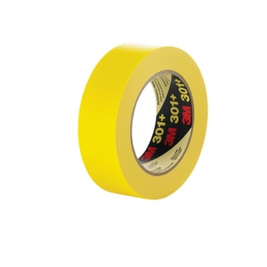 3M 55m x 24mm Performance Masking Tape in Yellow 3M0511156475