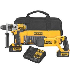 DEWALT Cordless 20V Reciprocating Saw 2 Tool Kit DDCK292L2 at Pollardwater