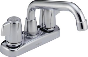 Delta Faucet Classic® Two Lever Handle Laundry Faucet in Polished Chrome D2123LF