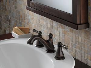 Delta Faucet Haywood™ Two Handle Widespread Bathroom Sink Faucet in Venetian Bronze D35999LFRB