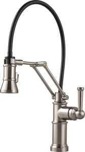 Brizo Artesso™ Single Handle Pull Down Kitchen Faucet in Stainless D63225LF