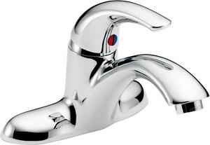 Delta Faucet Teck® Single Handle Centerset Bathroom Sink Faucet in Polished Chrome D22C101
